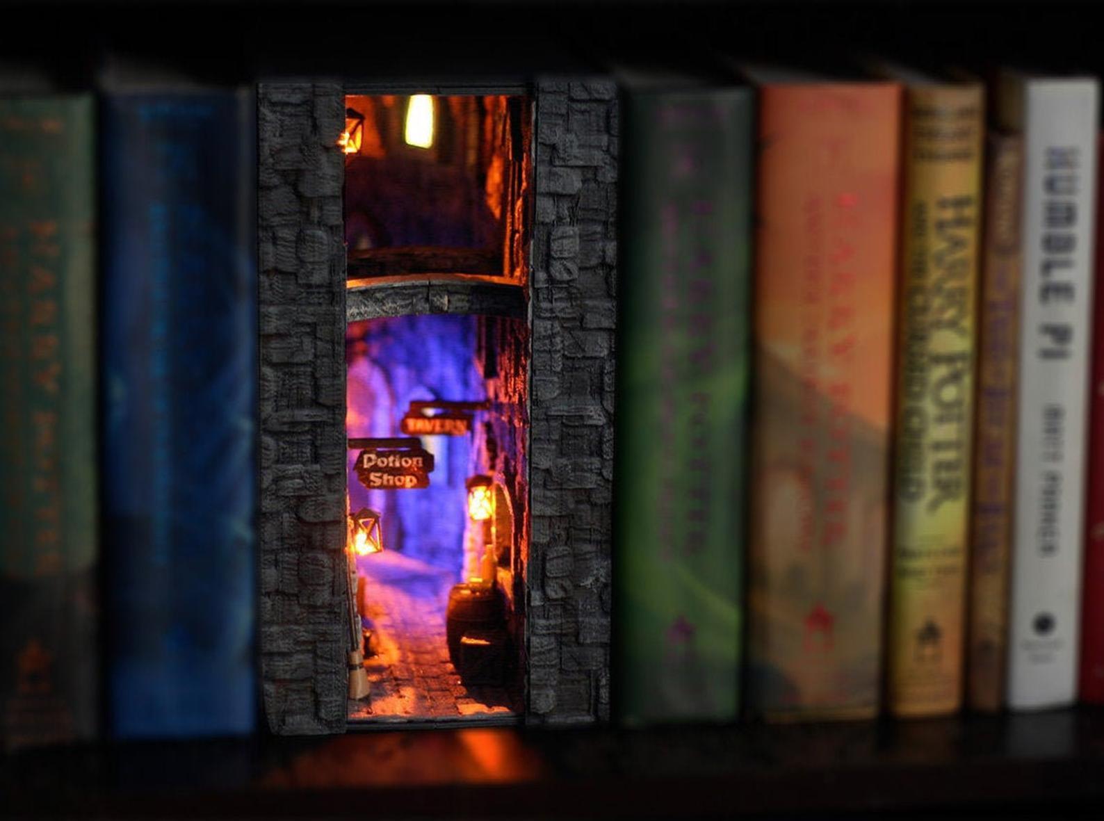 Book Nook Bookshelf Insert by Gifter World