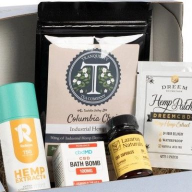 CBD of the Month Club Subscription from Hemp Crate Co by Gifter World