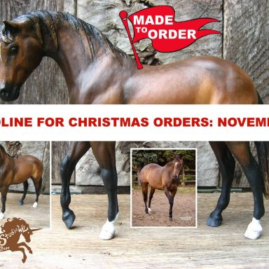 Custom Breyer Horse by Gifter World