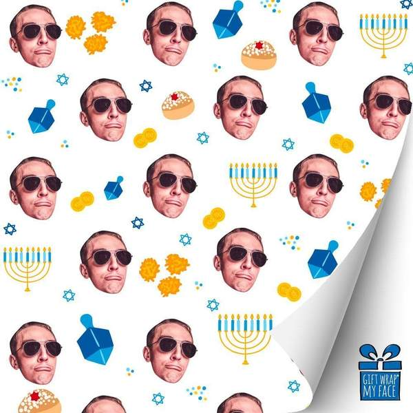 Gift Wrap My Face Personalized Wrapping Paper by Gifter World