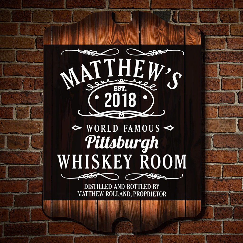 Jack Daniels Sign and Unique Man Cave Gifts by Gifter World
