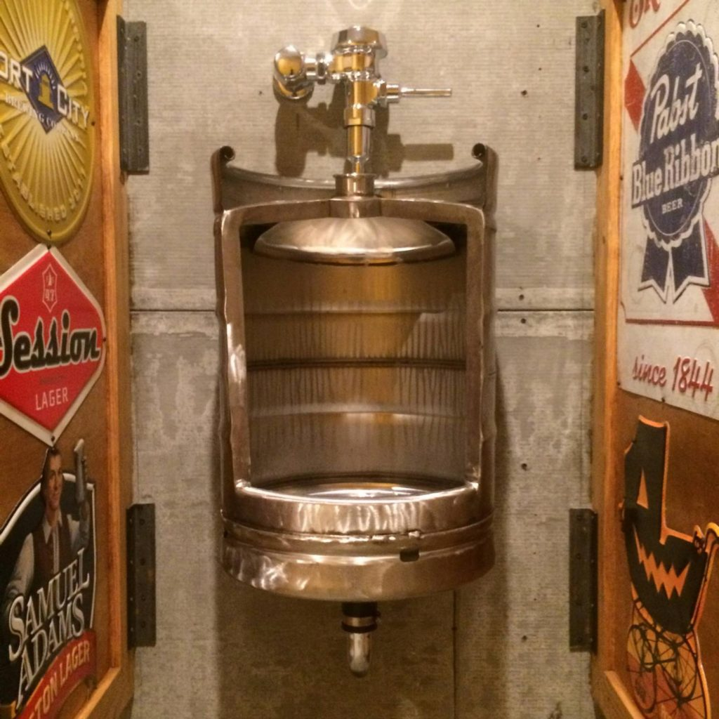 Keg Urinal and Unique Man Cave Gifts by Gifter World