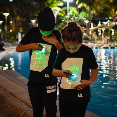 Light Up Drawing Tees by Gifter World