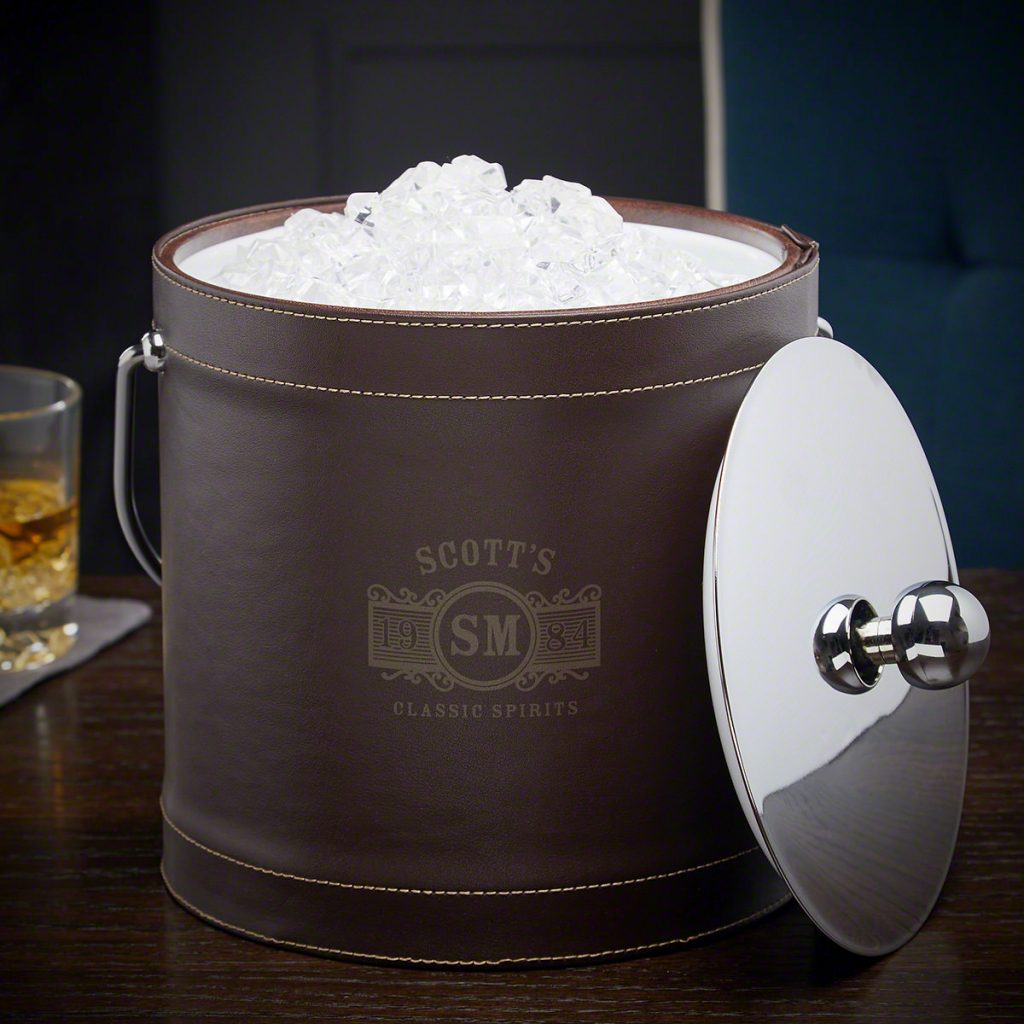Personalized Ice Bucket and Unique Man Cave Gifts by Gifter World