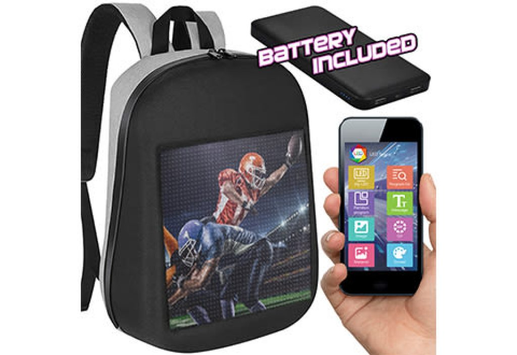 Pixelated Backpack and the Best tech Gifts for Teens by Gifter World