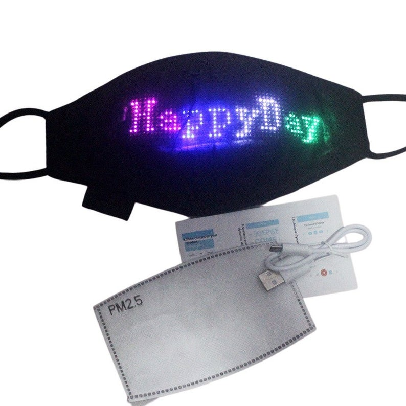 Programmable LED Mask by Gifter World