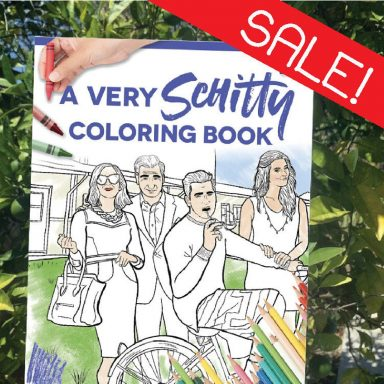 Schitt's Creek Coloring Book, A Very Schitty Coloring Book by Gifter World