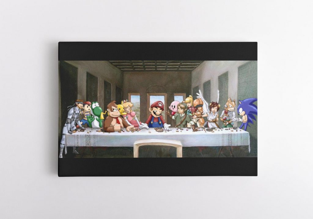 The Last Supper Nintendo and The Best Gifts for Gamers by Gifter World