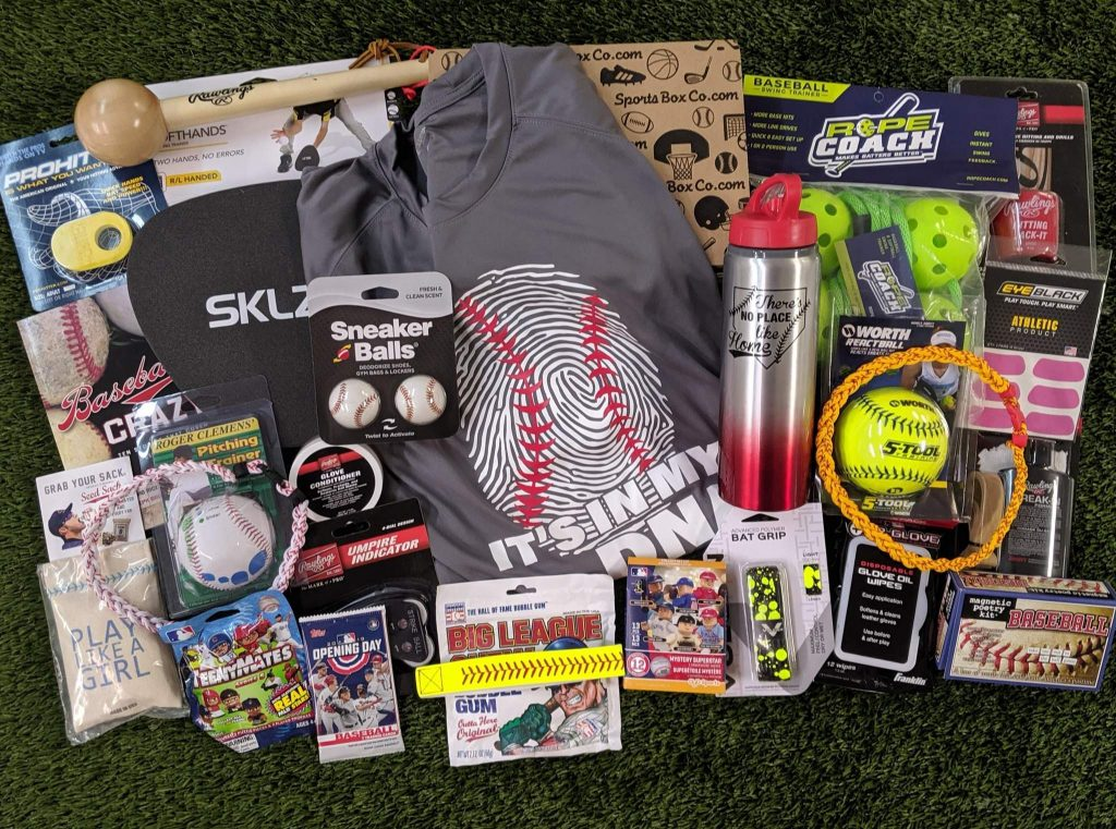 Baseball of the Month Club Subscription by Sports Box and Unique Gifts for Baseball Fans and Lovers by Gifter World