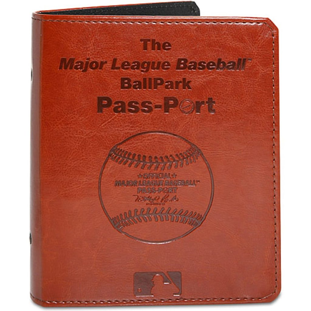 Baseball Passport Book and Unique Gifts for Baseball Fans and Unique Baseball Gifts by Gifter World
