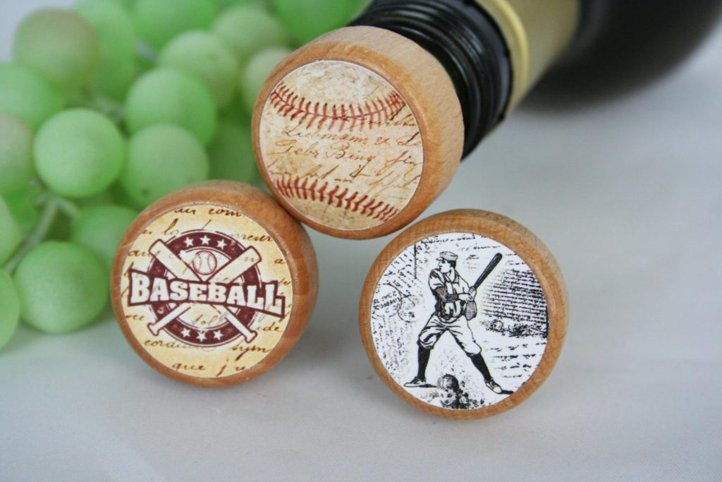 Baseball Wine Stoppers and Unique Gifts for Baseball Fans and other Amazing Baseball Gifts by Gifter World