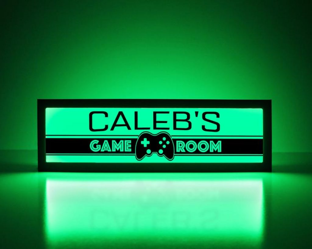Custom Gaming Sign and The Best Gifts for Gamers by Gifter World