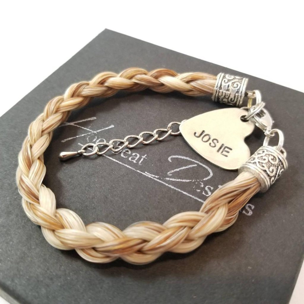 Custom Horse Hair Bracelet and Unique Gifts for Horse Lovers and Equestrians by Gifter World