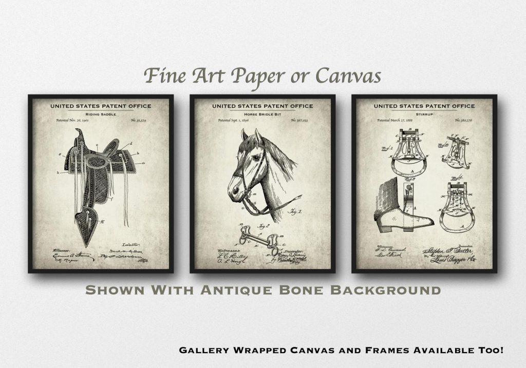 Horse Riding Patents and the Best Horse Lover Gifts and Equestrian Gifts by Gifter World
