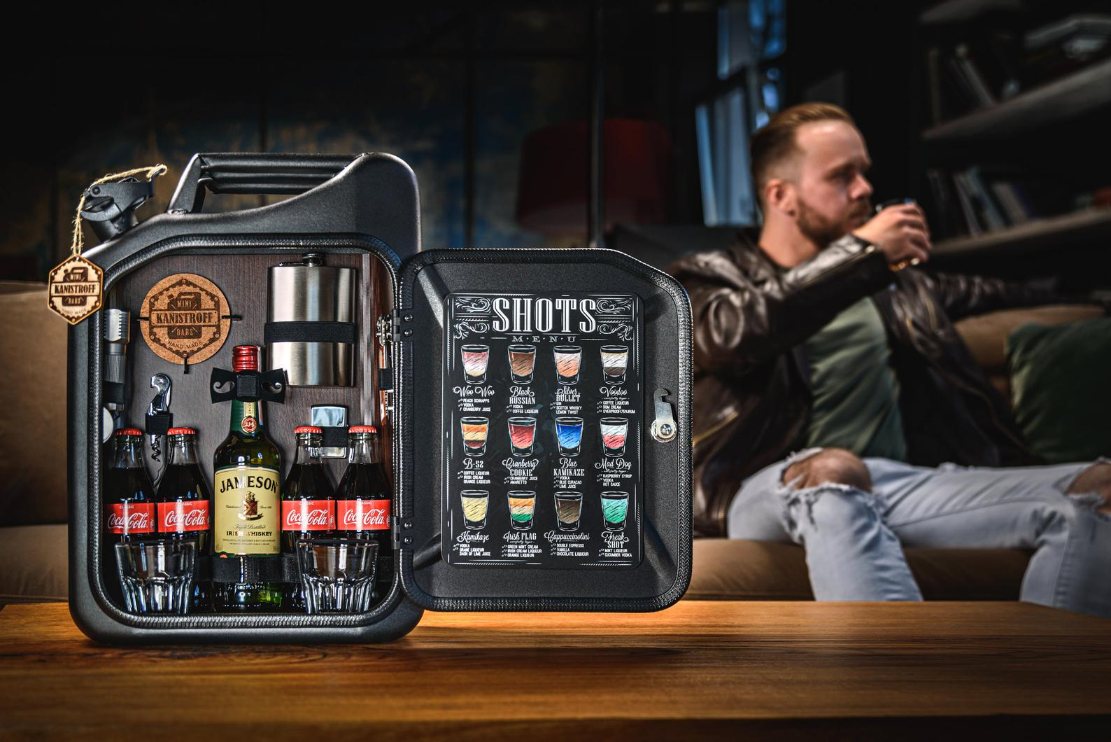 Jerry Can Minibar for Drinkers by Gifter World