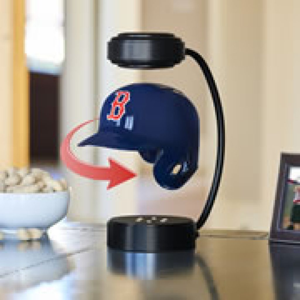 Levitating Sports Helmet and Unique Gifts for Baseball Lovers and Fans and Other Baseball Gifts by Gifter World
