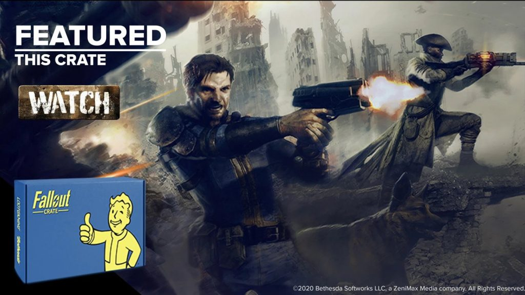 Lootcrate Fallout Crate and The Best Gifts for Gamers by Gifter World