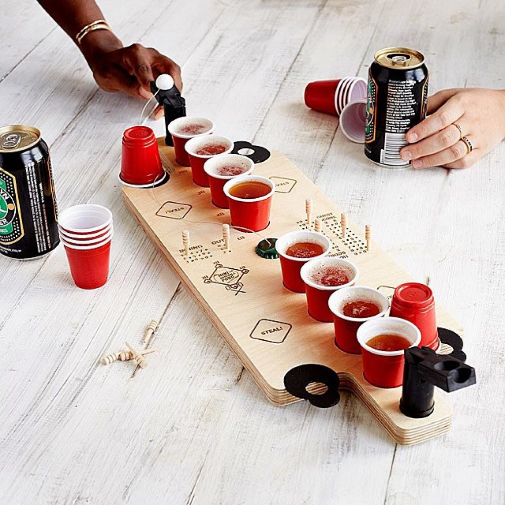 Mini Baseball Pong and Unique gifts for Baseball Fans and Baseball Gifts by Gifter World
