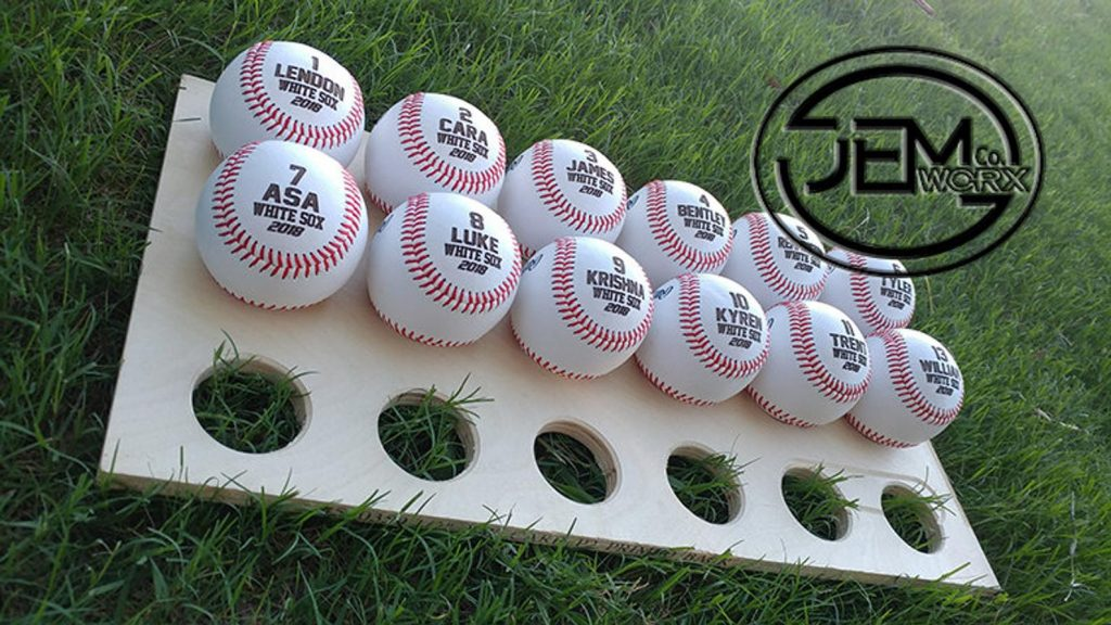 Personalized Baseballs for Teams and Unique Gifts for Baseball Fans and Enthusiasts by Gifter World
