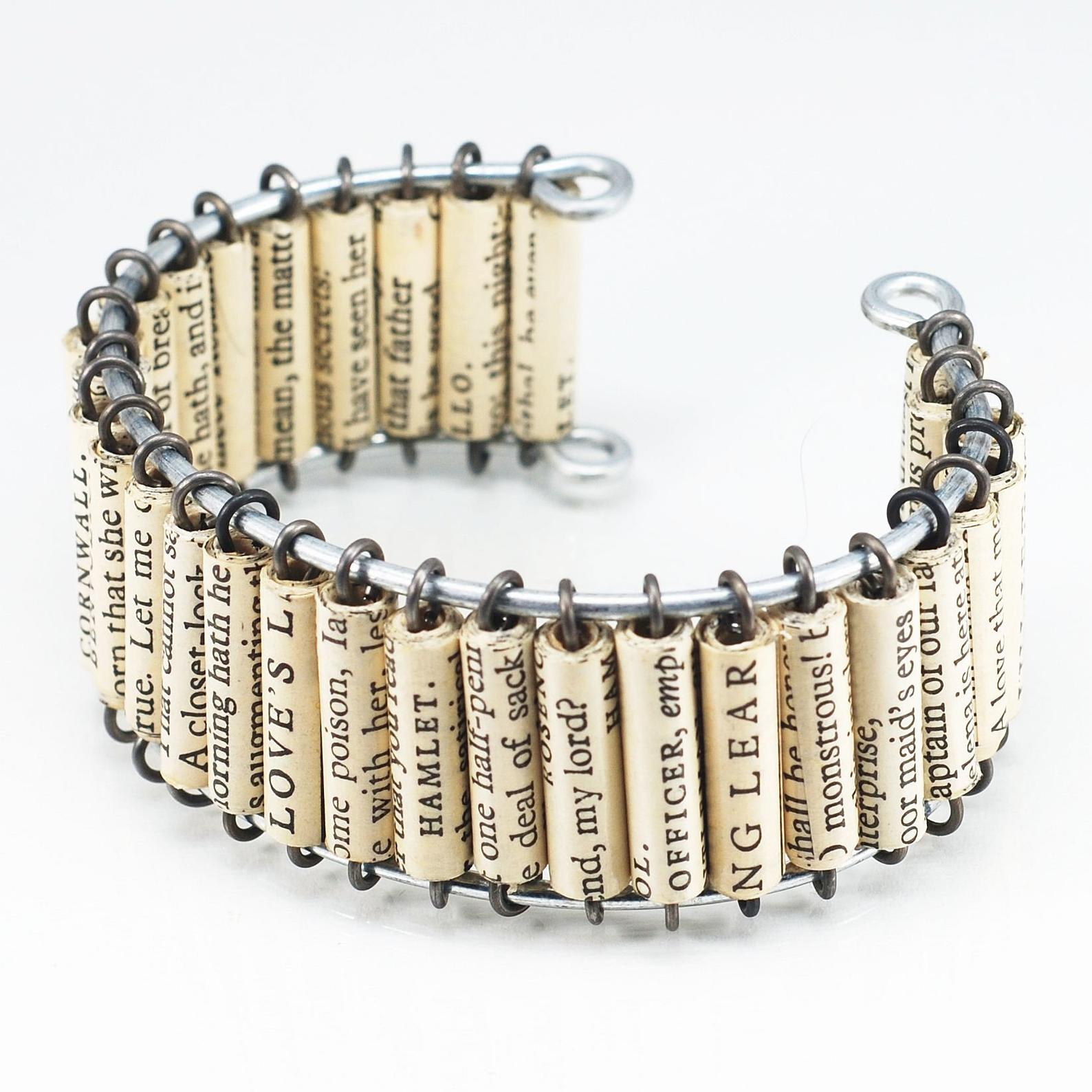 Shakespeare Bracelet Upcycled by Gifter World