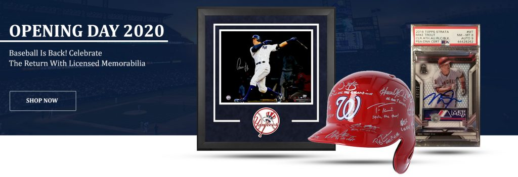 Signed Baseball Memorabilia and unique Gifts for Baseball Fans and Other Awesome Baseball Gifts by Gifter World