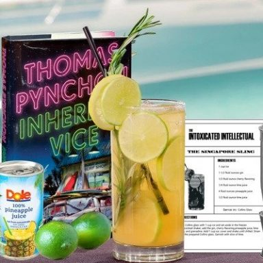 The Intoxicated Intellectual Booze and Books of the Month Club Subscription by Gifter World