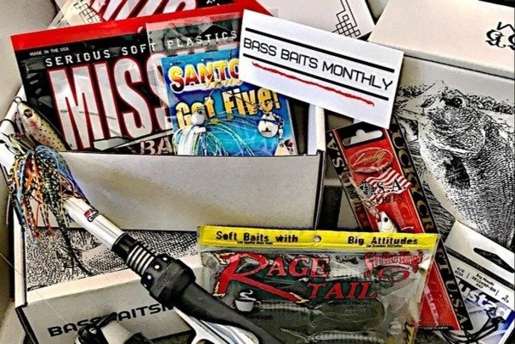 Bass Baits Monthly Fishing Subscription and the Best Gifts for Fishermen and Other Fishing Gifts by Gifter World