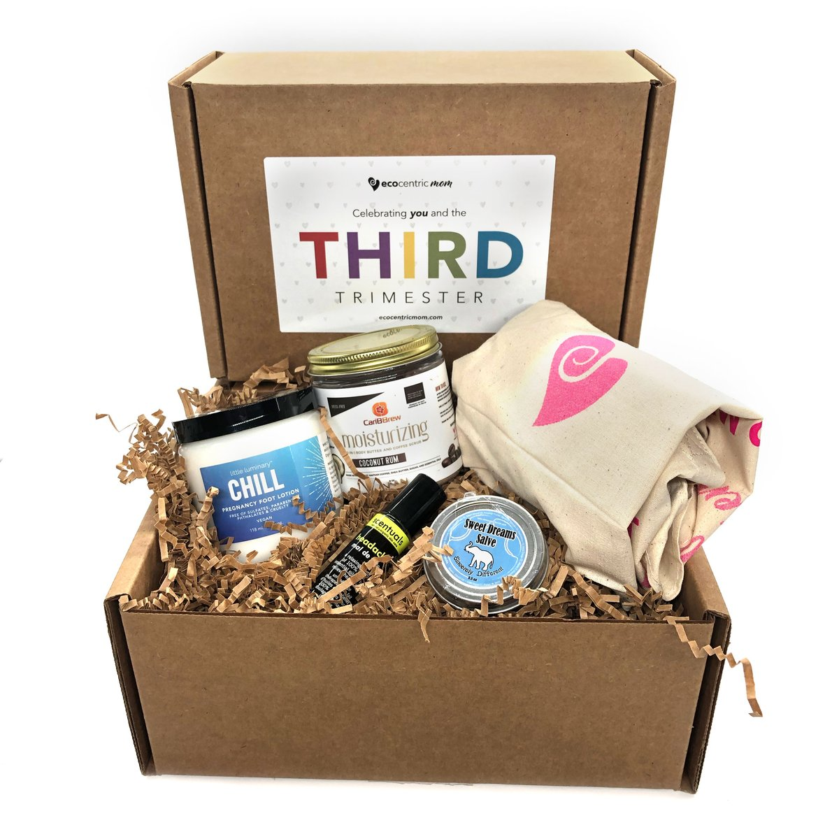 Ecocentric Mom Pregnancy Subscription Box by Gifter World