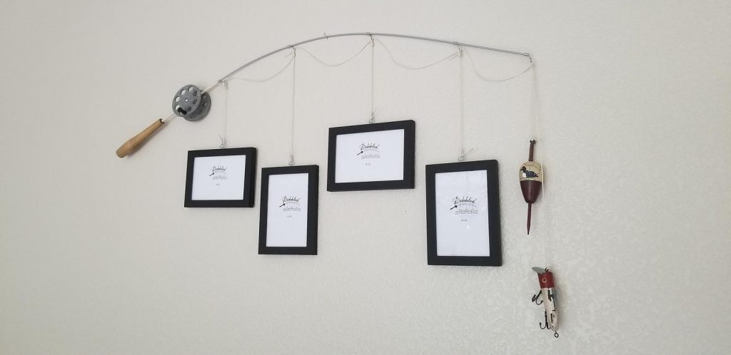 Fishing Pole Picture Frames and Unique Gifts for Fishermen and the Best Fishing Gifts by Gifter World