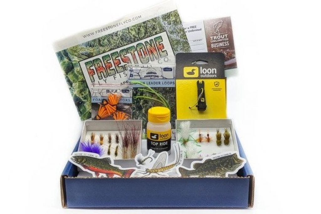 Freestone Fly Fishing Subscription and Unique Gifts for Fishermen and the Best Fishing Gifts by Gifter World
