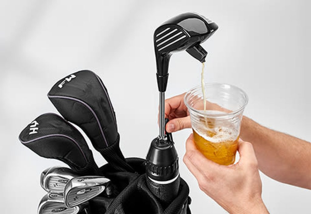 Golf Driver Drink Dispenser and the Best Gifts for Golfers Who Have Everything and Unique Golf Gifts by Gifter World