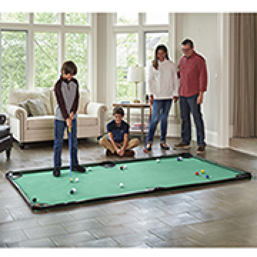 Largest pool Golf Table and the Best Gifts for Golfers Who Have Everything and Other Unique Golf Gifts by Gifter World