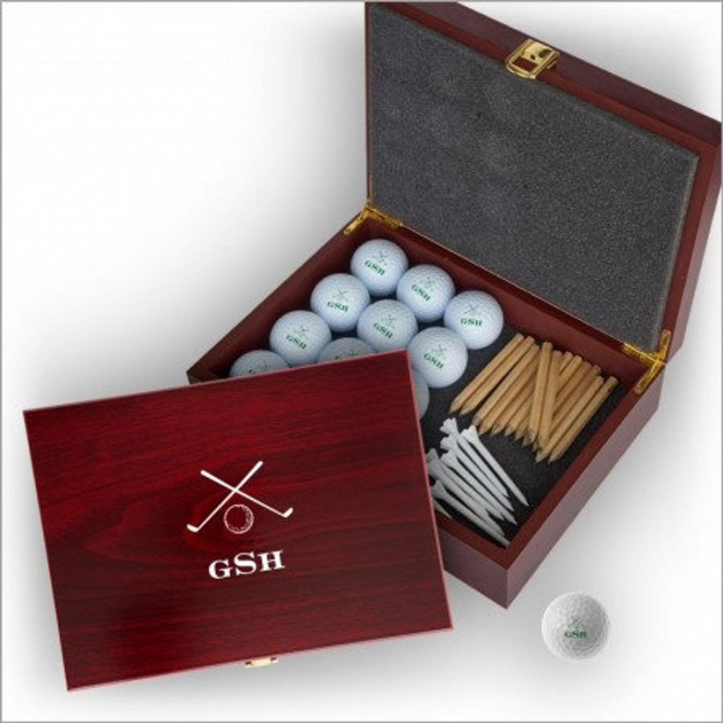 Personalized Golf Ball Case and The Best Gifts for Golfers Who Have Everything and Unique Golf Gifts by Gifter World