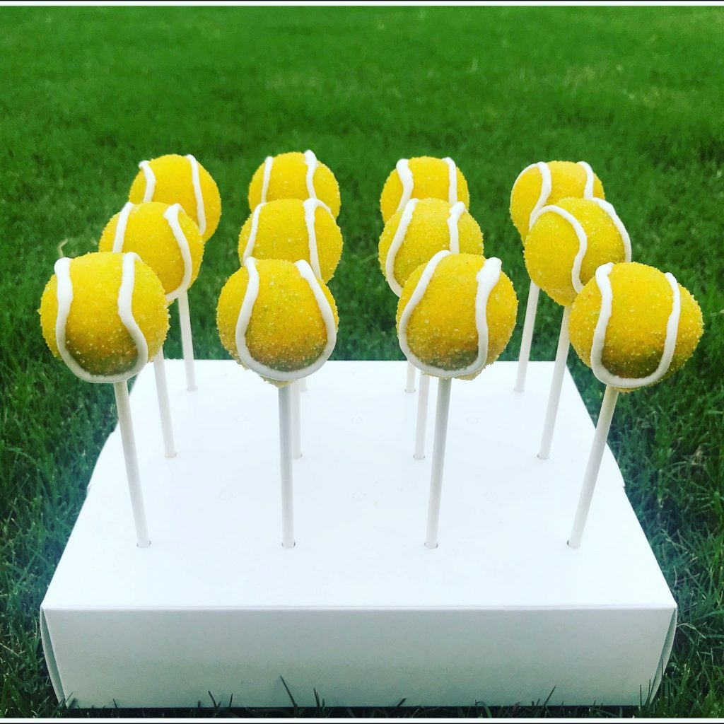 Tennis Ball Cake Pops and The Best Gifts for Tennis Players and lovers by Gifter World