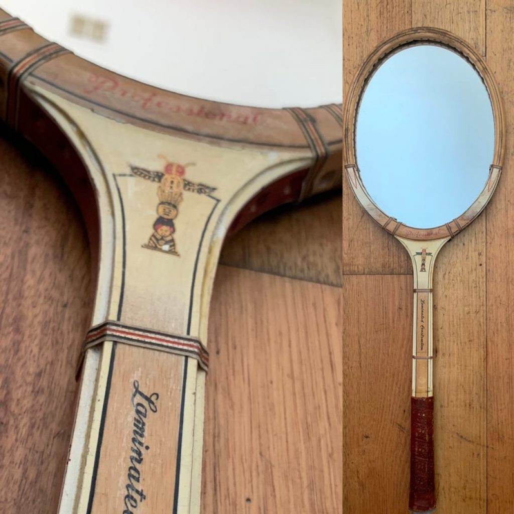 Vintage Tennis Racket Mirror and the Best Gifts for Tennis Players and Fans by Gifter World
