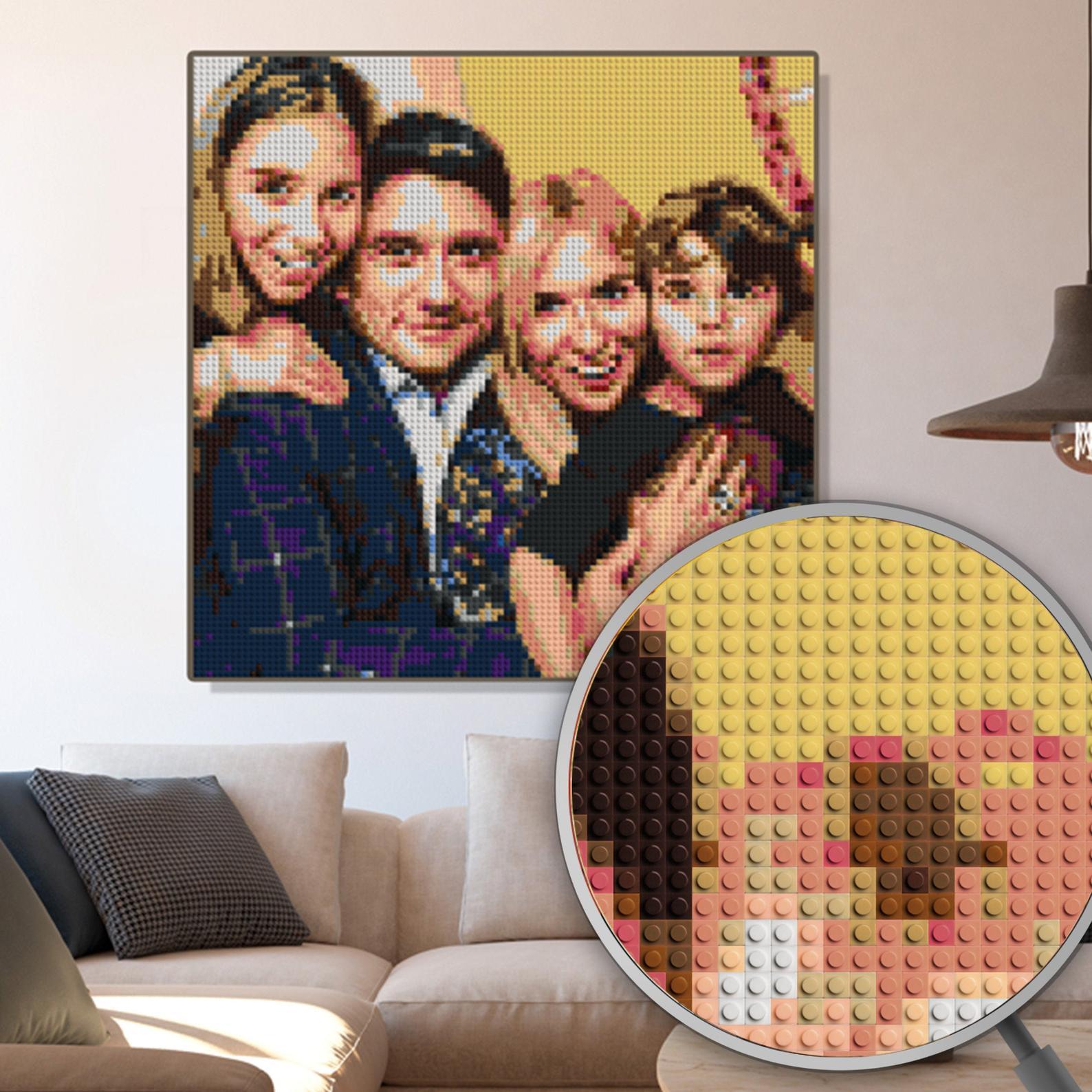 Custom DIY Mosaic Portrait by Gifter World
