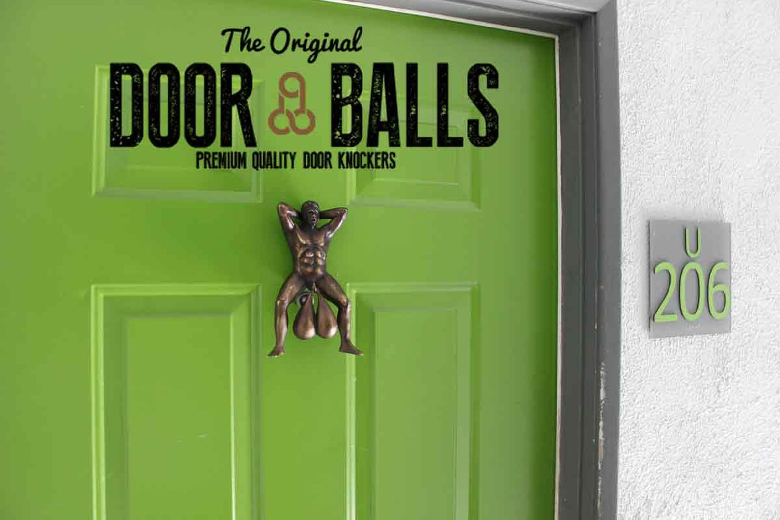 Doorball Knocker Gag Gift by Gifter World