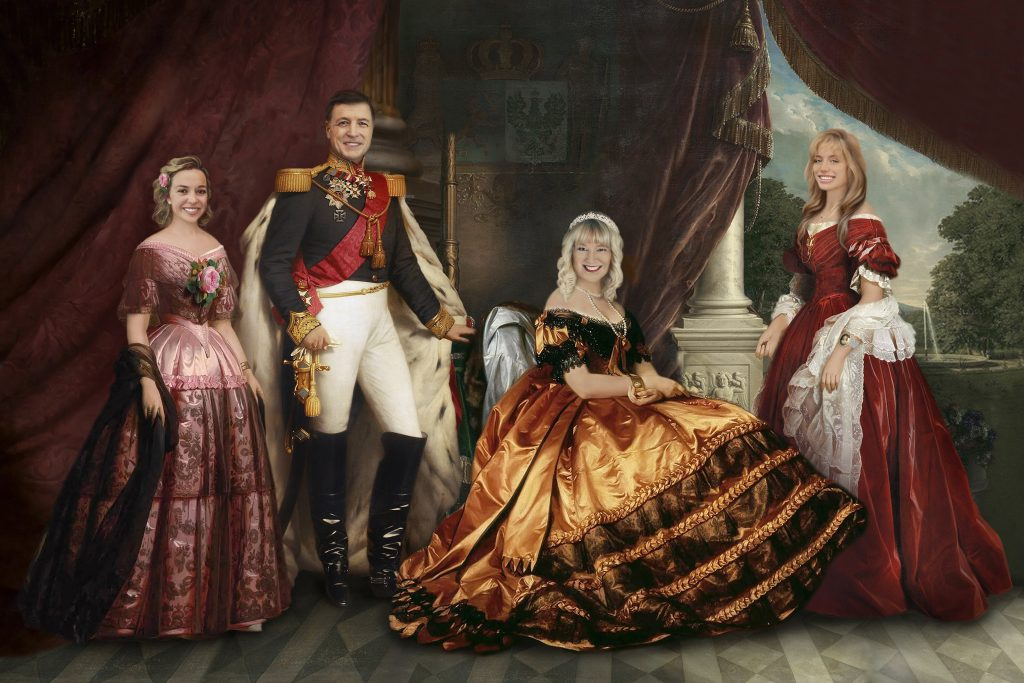 Historical Family Portrait and the Best Gifts for a 70-Year-Old Man by Gifter World