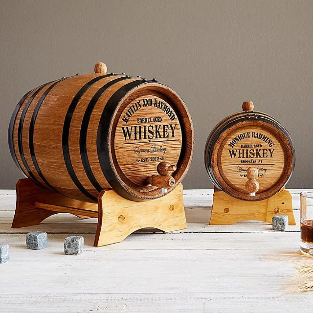 Personalized Whiskey Barrel and 5th Anniversary Gift Ideas for Drinkers by Gifter World