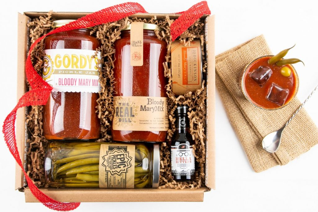 Bloody Mary Gift Set and Unique Hostess Gift Ideas for Overnight Stay by Gifter World