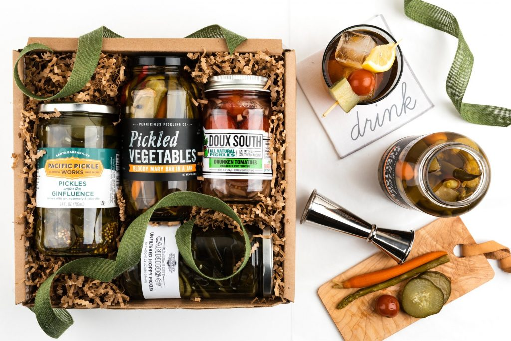 Boozy Pickles and the Best Hostess Gifts for Weekend Stay by Gifter World