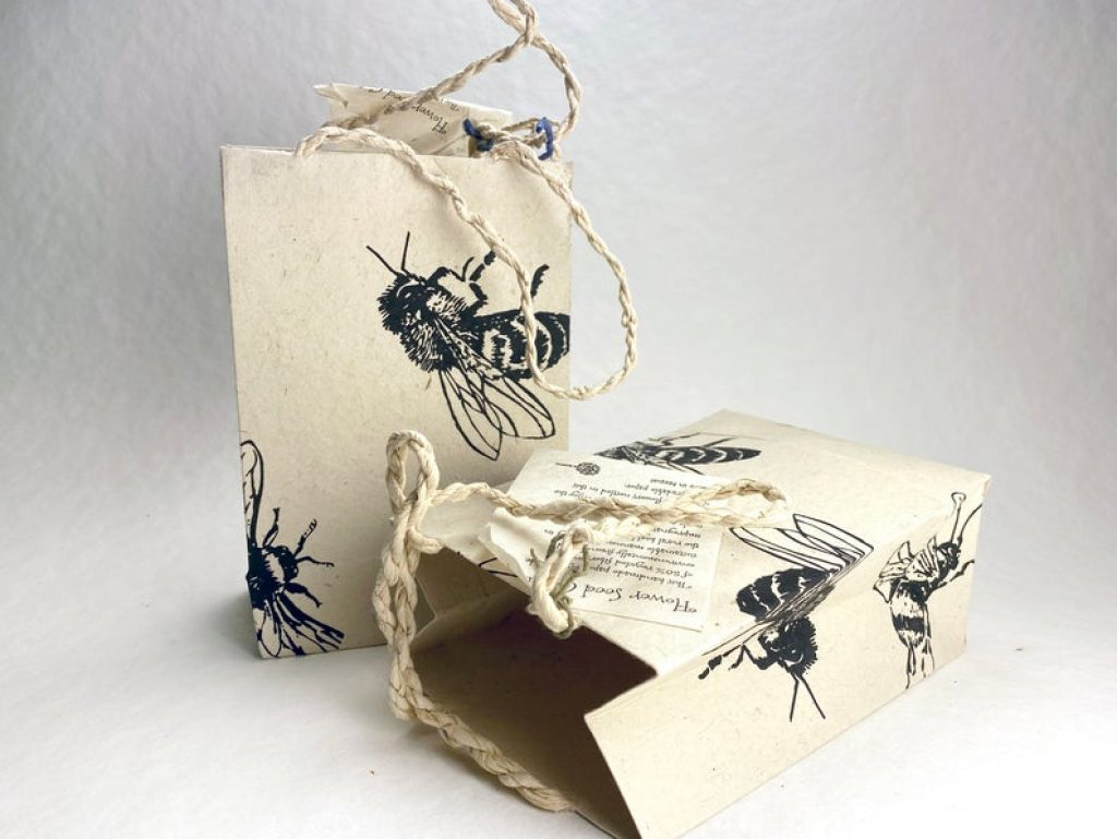 Flowering Seed Gift Bag and the Best Gifts for Environmentalists by Gifter World