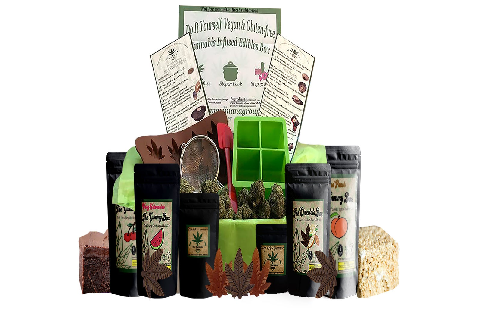 Make Your Own Weed Edibles Kit by Gifter World