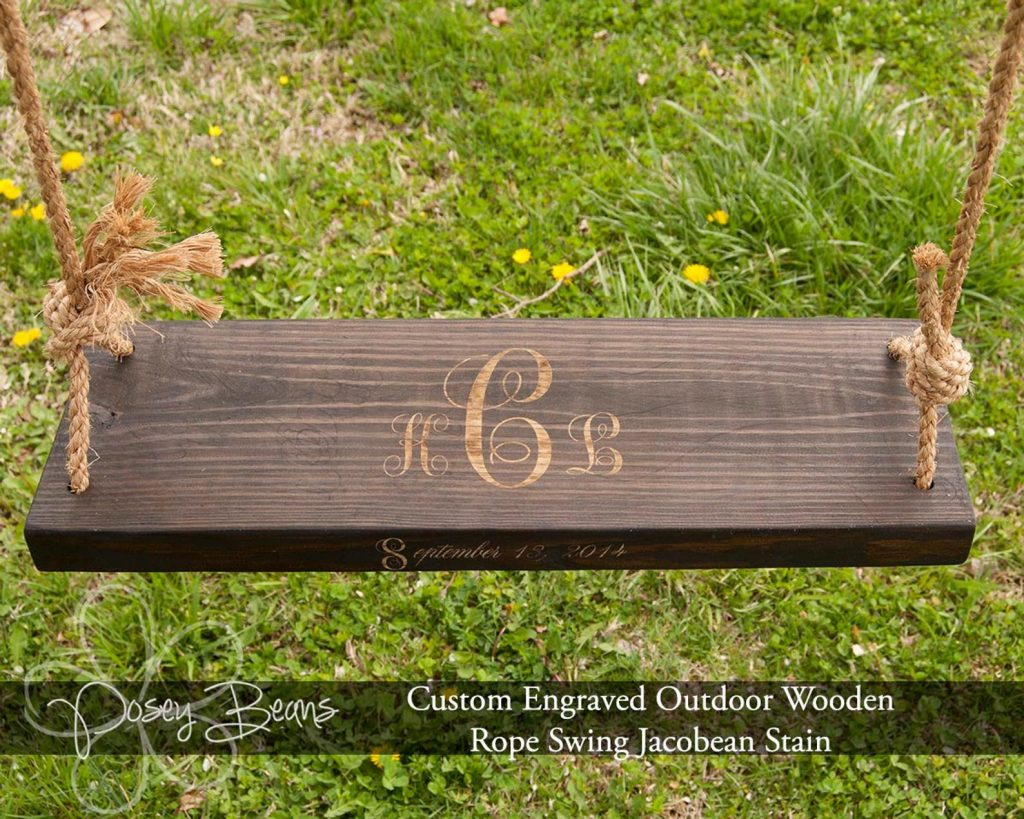 Personalized Swing and Unique Wedding Gifts for Older Couples by Gifter World
