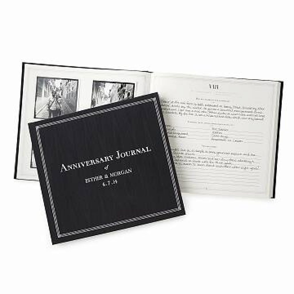 Personalized Wedding Journal and the Best Wedding Gifts for Older Couples Living Together by Gifter World