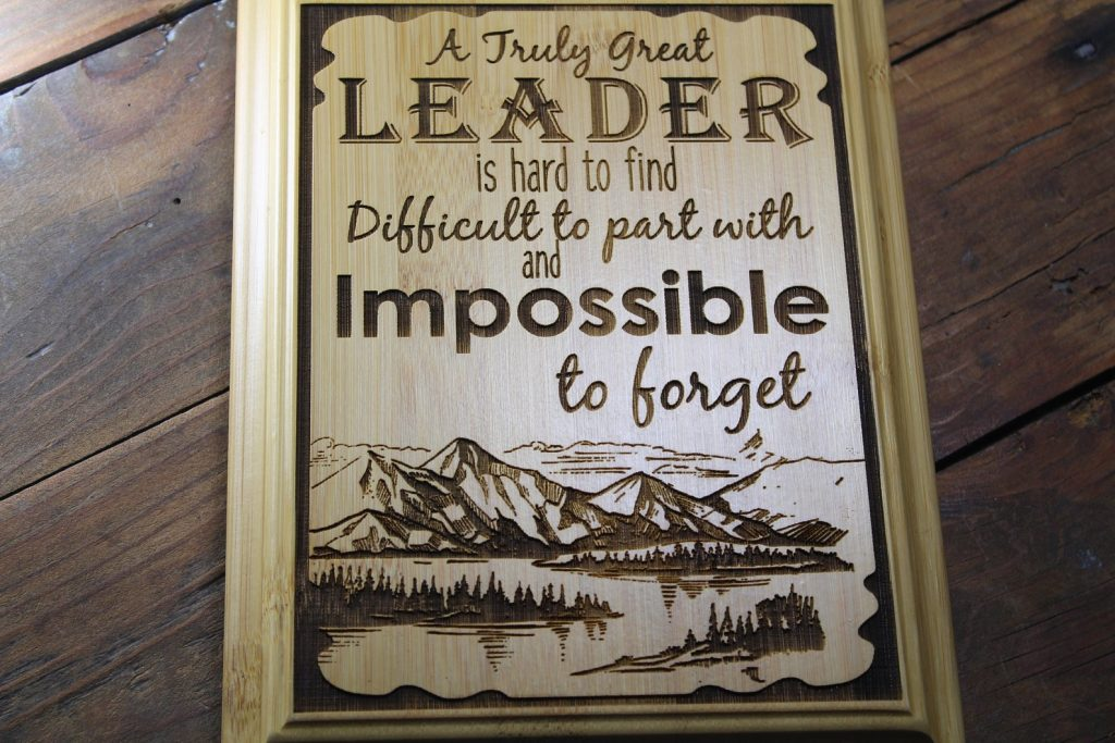 Leadership Plaque and Going Away Gifts for Your Boss and Coworkers by Gifter World