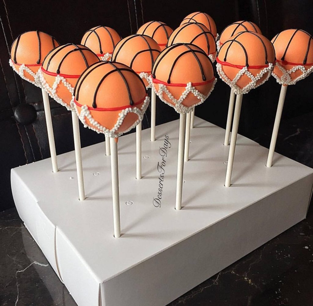 Basketball Cake Pops and the Best Basketball Gift Ideas for guys and Girls by Gifter World