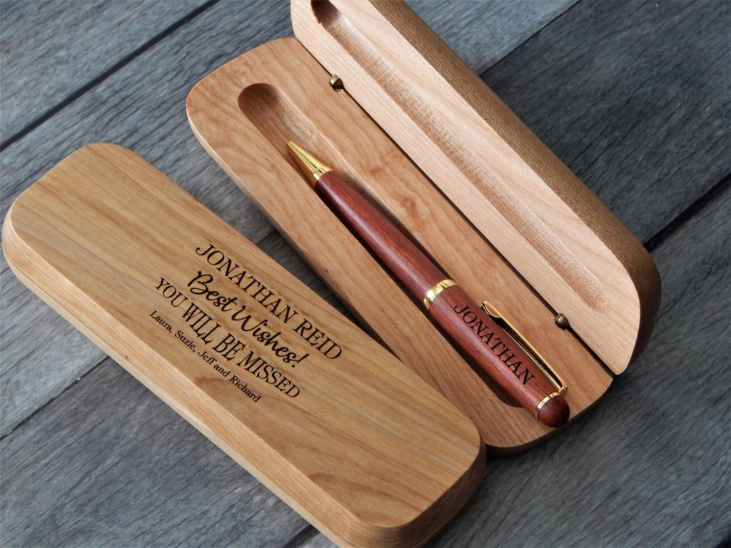 Personalized Pen Set and Unique Personalized Parting Gifts for Coworkers by Gifter World