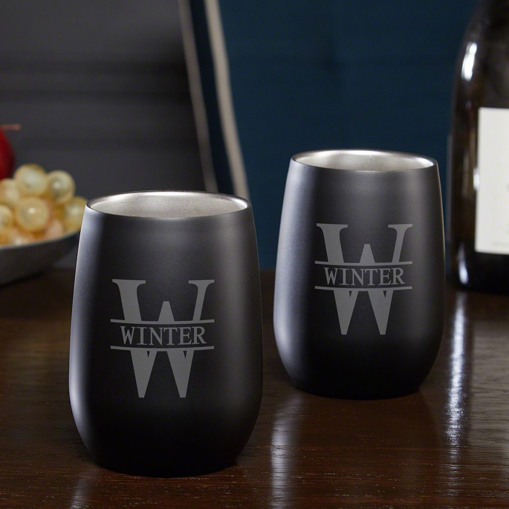 Personalized WIne Glasses and Unique Gifts for Pool Owners by Gifter World
