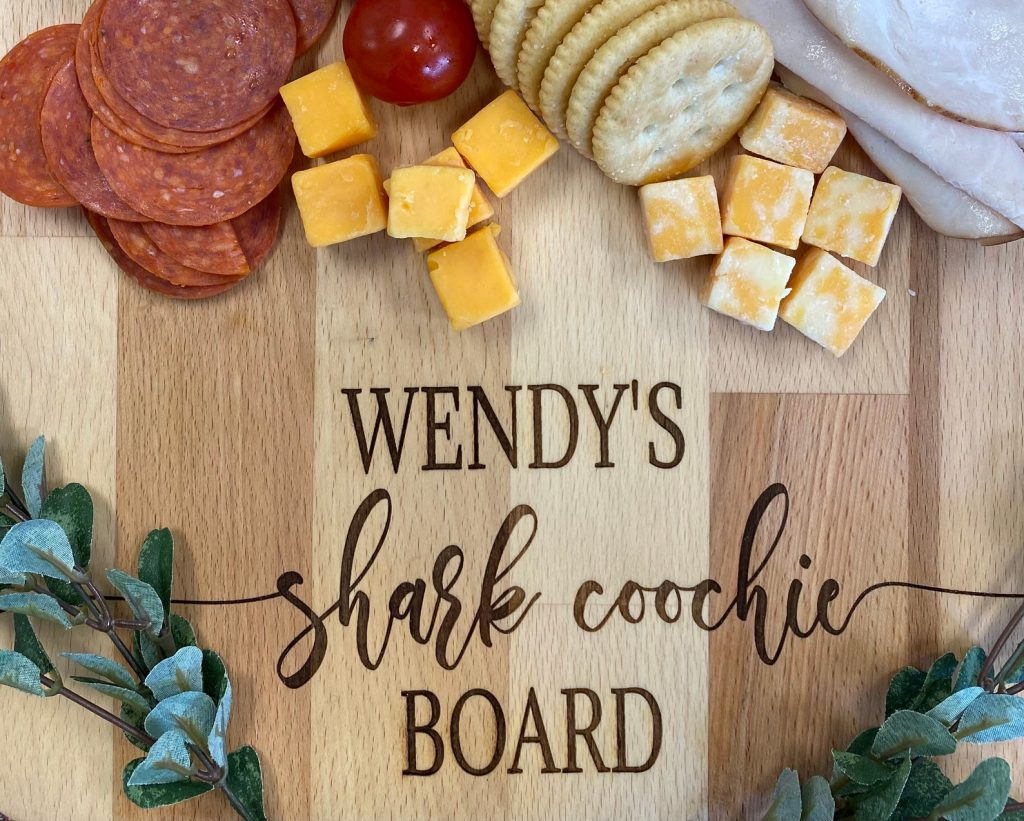 Shark Coochie Board and Personalized Gifts for Pool Owners by Gifter World